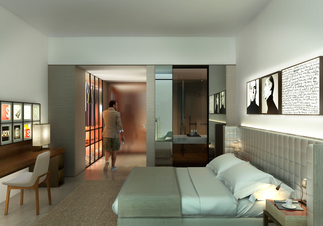 Sweet Bird - Hotel Miami - Room. @GCA ARQUITECTES